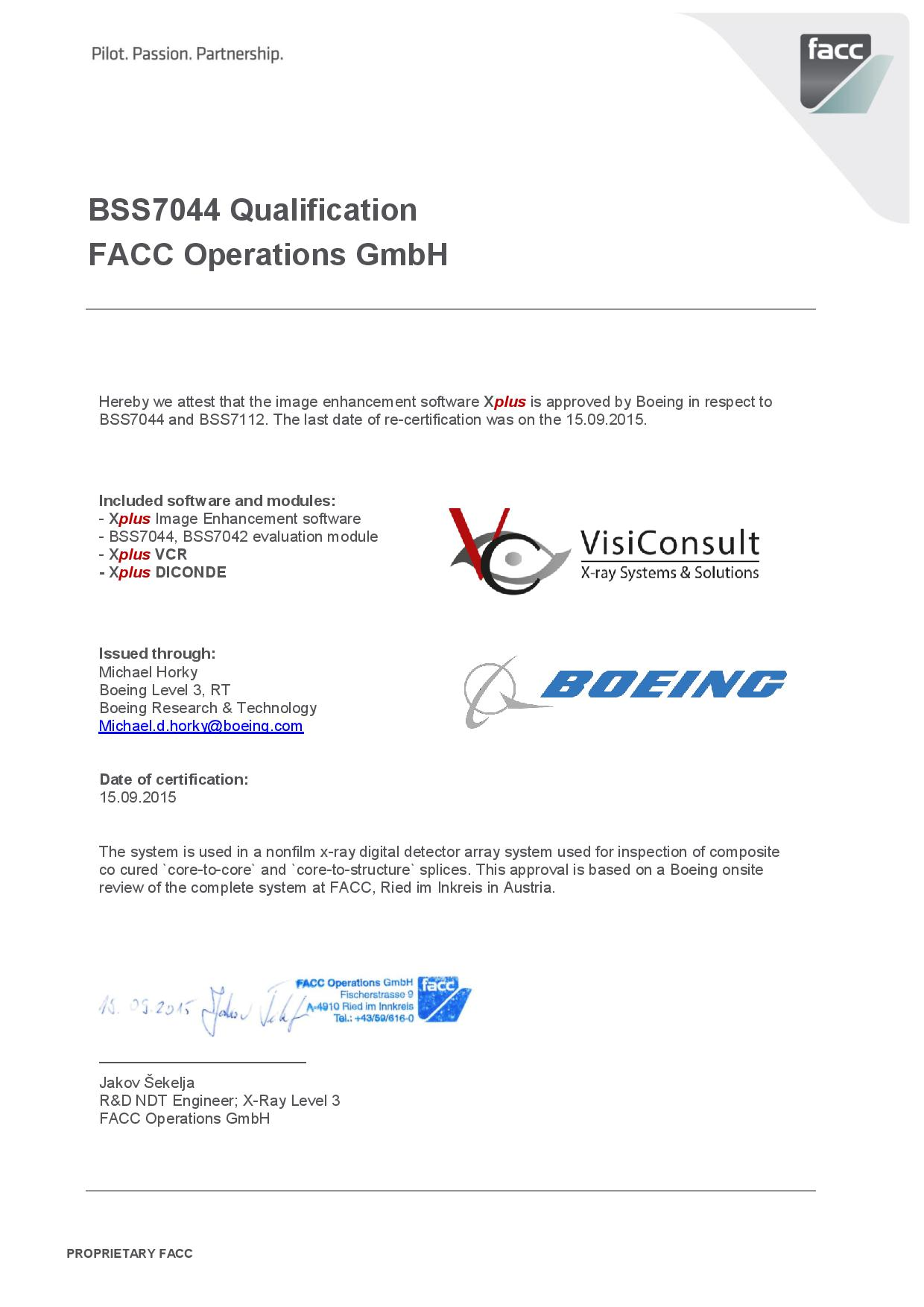 Nadcap And Boeing Visiconsult