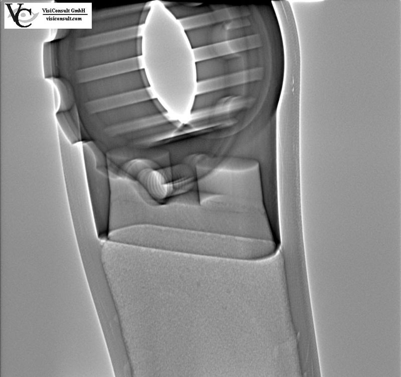 Composite material X-ray inspection