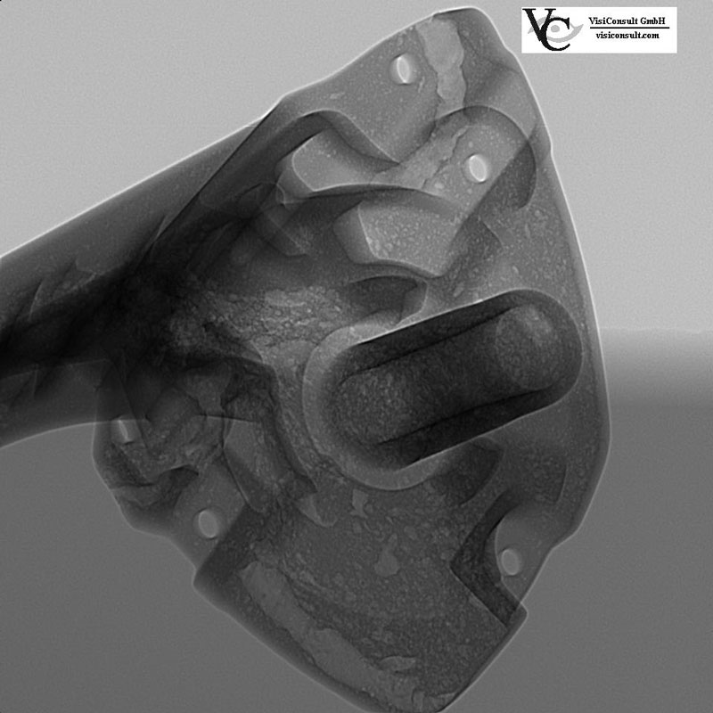 Aluminum Casting Al X Ray Inspection Visiconsult