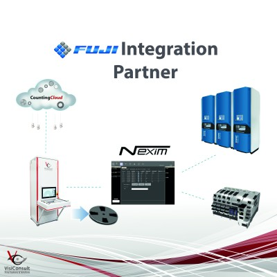 Fuji-Nexim-smart-factory-integration-parts-counter-xray-contactless-visiconsult-mes-erp-system-smd