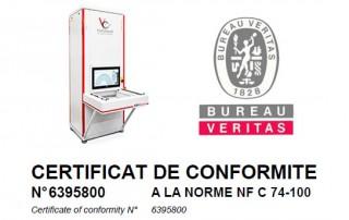NFC Zertifizierung röntgenanlage automatisierte Röntgeninspektion xray solution