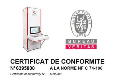 NFC Zertifizierung Bureau Veritas