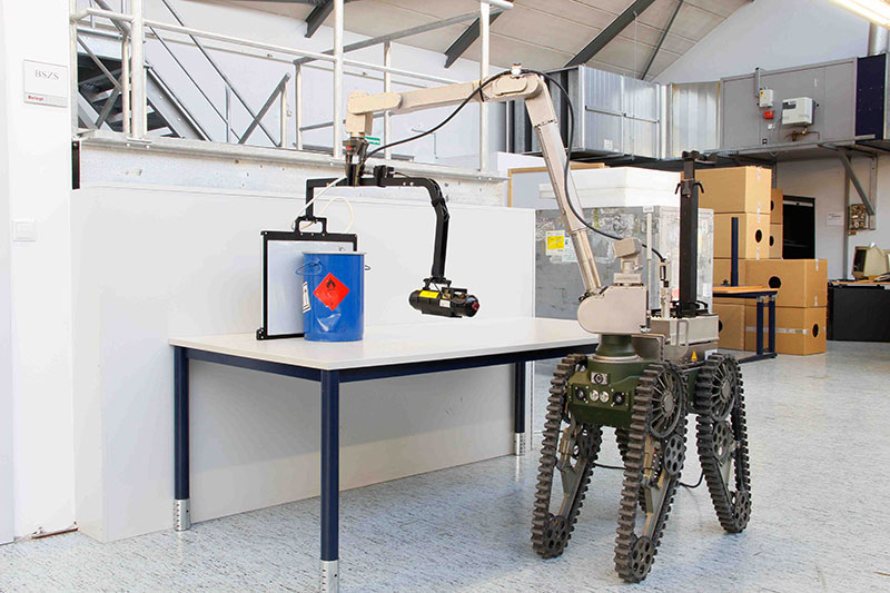 mobile X-ray inspection robot röntgenanlage automatisierte Röntgeninspektion xray solution