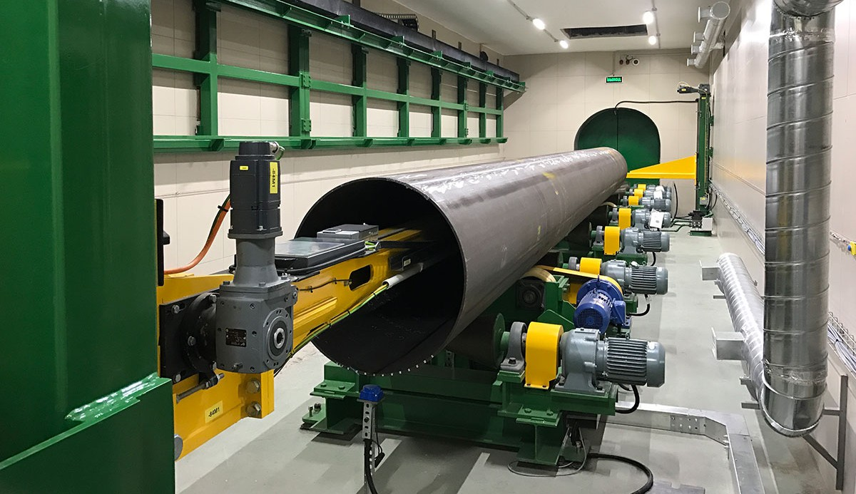 New approach for X-ray inspection of pipelines