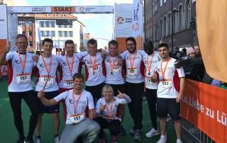 VisiConsult macht 18. Platz beim Stadtwerke Staffelmarathon