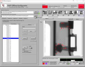 Figure 1: ADR avec pièce moulée en aluminium - Vérification de la détection de défaut avec une pièce maîtresse
