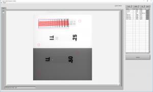 Figure 3: Image Quality Evaluation Toolbox mit Duplex Plate Phantom