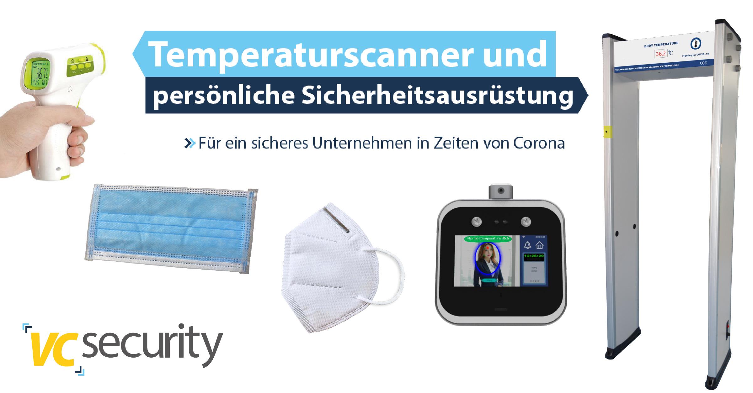 VCsecurity Corona Equipment
