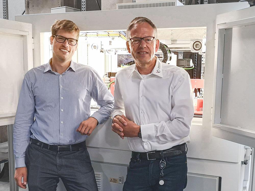 Foto Lennart und Hajo Schulenburg